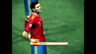 pes 2010 world cup south africa spain vs germany