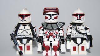 Download Video Custom LEGO: Star Wars - Clone Lieutenant Thire, Jek & Rys MP3 3GP MP4