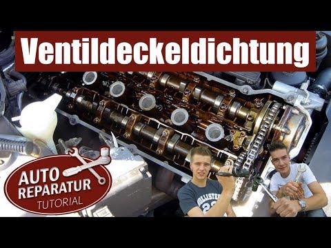 VENTILDECKELDICHTUNG WECHSELN | Zündkerzen  BMW [Tutorial] HD valve cover gasket spark plugs change