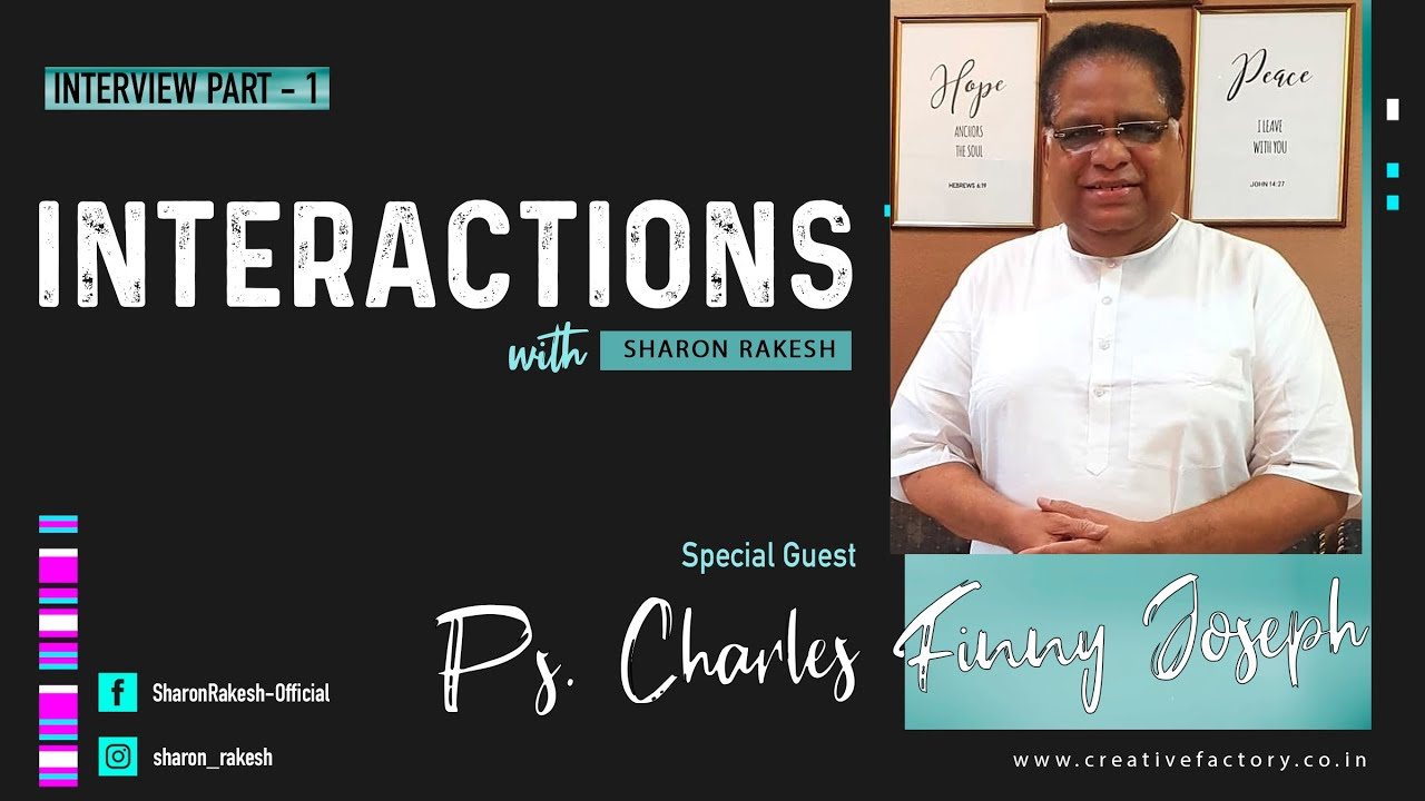 Interaction with Ps. Charles Finny Joseph I Part 1