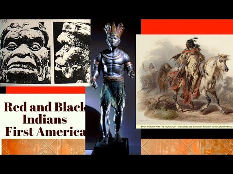R Black Indians First America