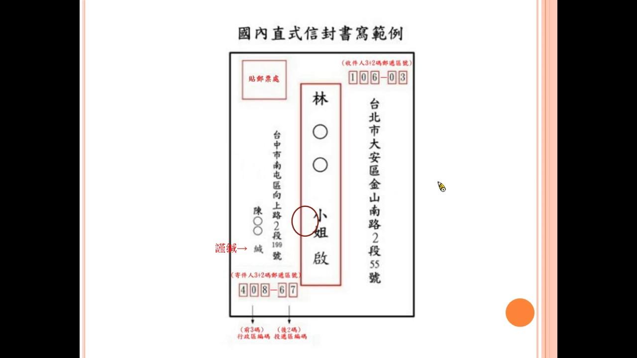 銀鑠開講 -- 國中國文 -- 應用文 -- 信封你寫對了嗎? - YouTube