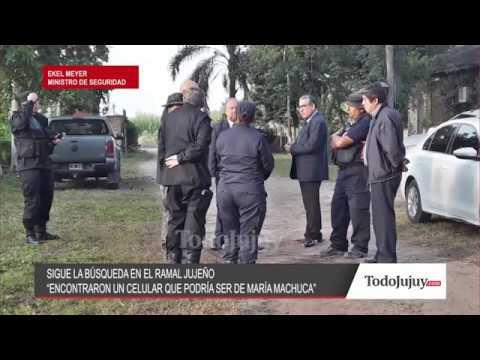 Mirá lo que dijo el ministro de Seguridad...encontraron un celular que podría ser de María Machuca