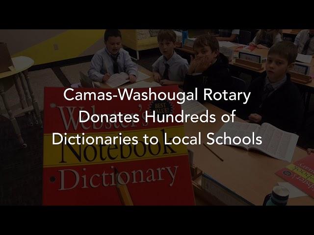 Camas-Washougal Rotary Club Donates Hundreds of Books to Local Schools