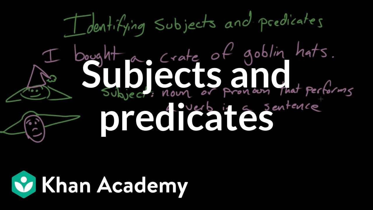 Predicate Definition