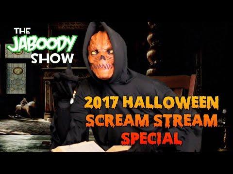 2017 Halloween Scream Stream Special - The Jaboody Show