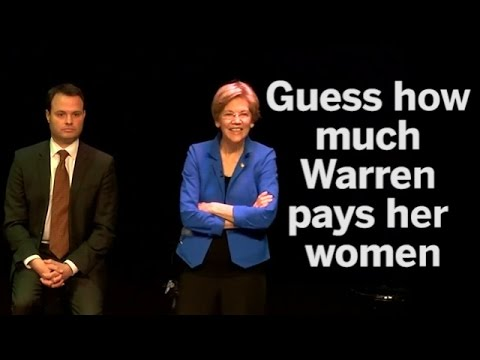 Warren found paying female workers less than pay gap