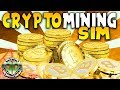 CRYPTOCURRENCY MINING SIMULATOR : BitCoin Tycoon Mining Simulator Gameplay : BETA Early Access