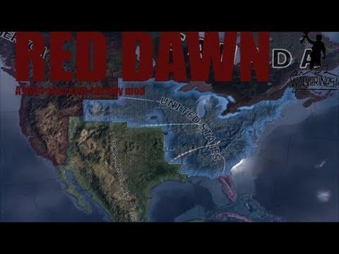 Red Dawn Mod Announcement Trailer. : hoi4