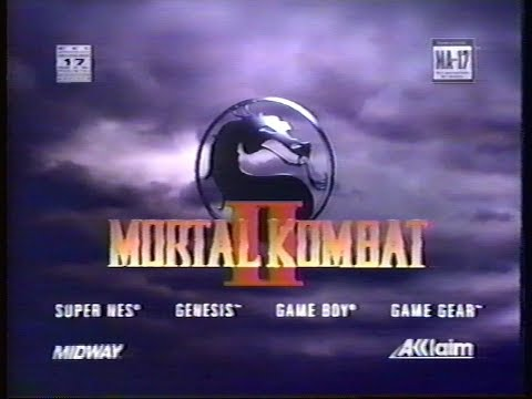 Mortal Kombat 2 II Video Game :: Commercial (1080p) - VIDEO GAME B-ROLL