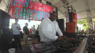 Kevin Saunderson @ DJ Mag Poolside Sessions, The Surfcomber WMC 2014,