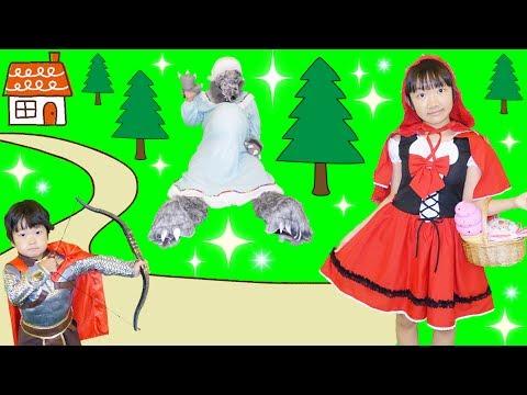 ★「赤ずきんちゃん!!」プリ姫バージョン!★Little Red Riding Hood Original version★