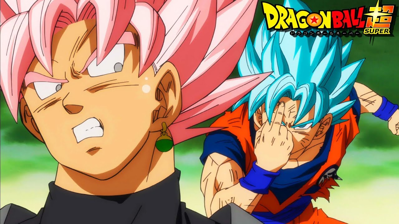 Super Goku Vs Goku Black