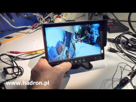 Monitor Quad do 4 kamer