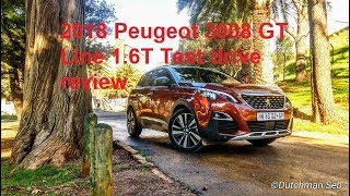 2018 Peugeot 3008 GT Line+ 1.6T Test drive review