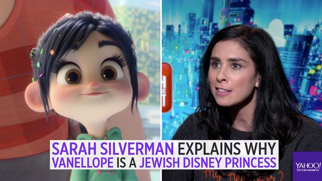 Sarah Silverman Explains Why Vanellope Is A Jewish Disney Princess Youtube