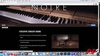 Noire - Native Instruments Kontakt Piano Library! + Beat Making