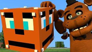 minecraft cubo de lucky block de 5 nights at freddy s mini game pvp