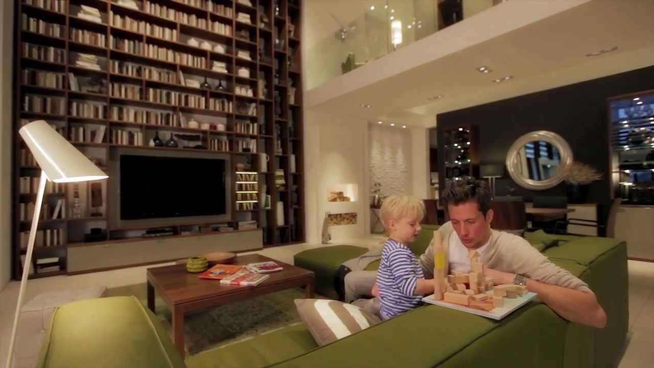 Produktvideo zum Image-Video einer Wohnwand porta-Prospekt P12_14 ...