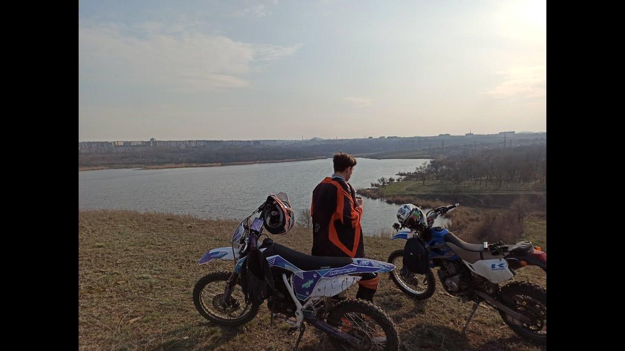 Эндуро покатушки выходного дня [Kawasaki KLX250 & BSE Z1]
