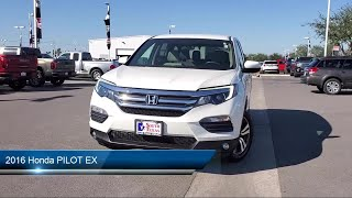 2016 Honda PILOT EX McAllen  Harlingen  Brownsville  San Juan  Edinburg