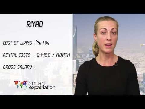 Riyadh - Cost of Living, Rental Costs & Gross Salary
