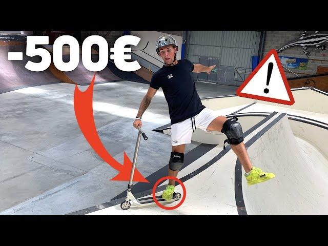1H SANS TOUCHER LE SOL, SINON JE PERDS 500€ (Challenge)
