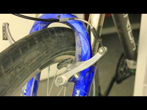 How to set/fix up v-brakes on your bicycle