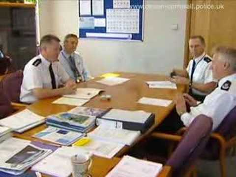 Devon & Cornwall Constabulary A Day In Life Of The Chief