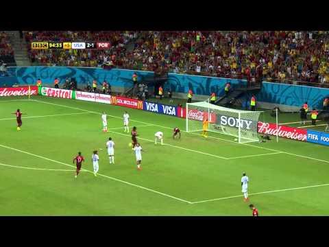 Portugal 2-2 Estados Unidos - GOL DE VARELA (90'+4) Mundial Brasil 2014