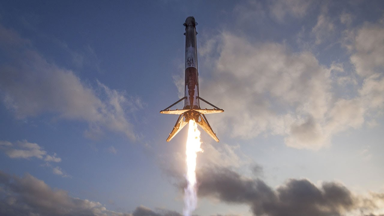 spacex falcon 9 landing seen from droneship 30 march 2017