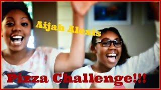 Aijah Alexis | Pizza Challenge !!!