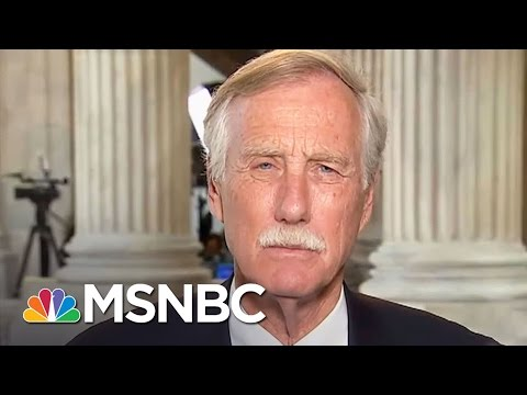 Senator Angus King On Jeff Sessions' Recusal From Russia Investigation | Andrea Mitchell | MSNBC