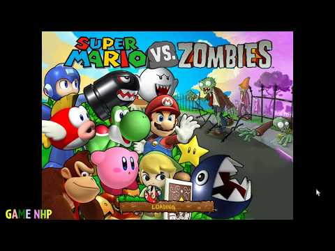 PvZ Mod Mario VS Zombies (Nintendo vs Zombies) - GamePlay