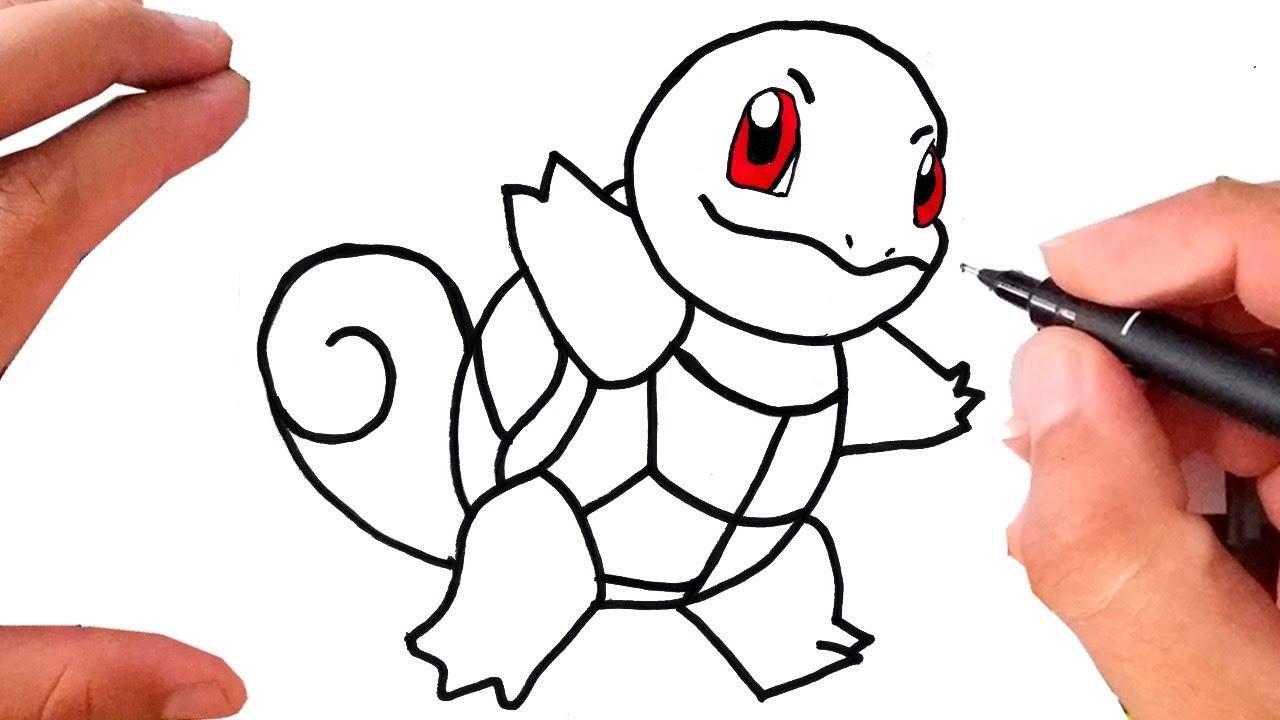 Como Desenhar Pokemon Squirtle Youtube