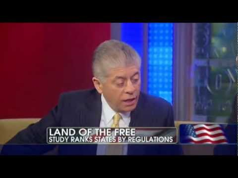 Judge Napolitano: What Are the Most, Least Free States in the United States?
