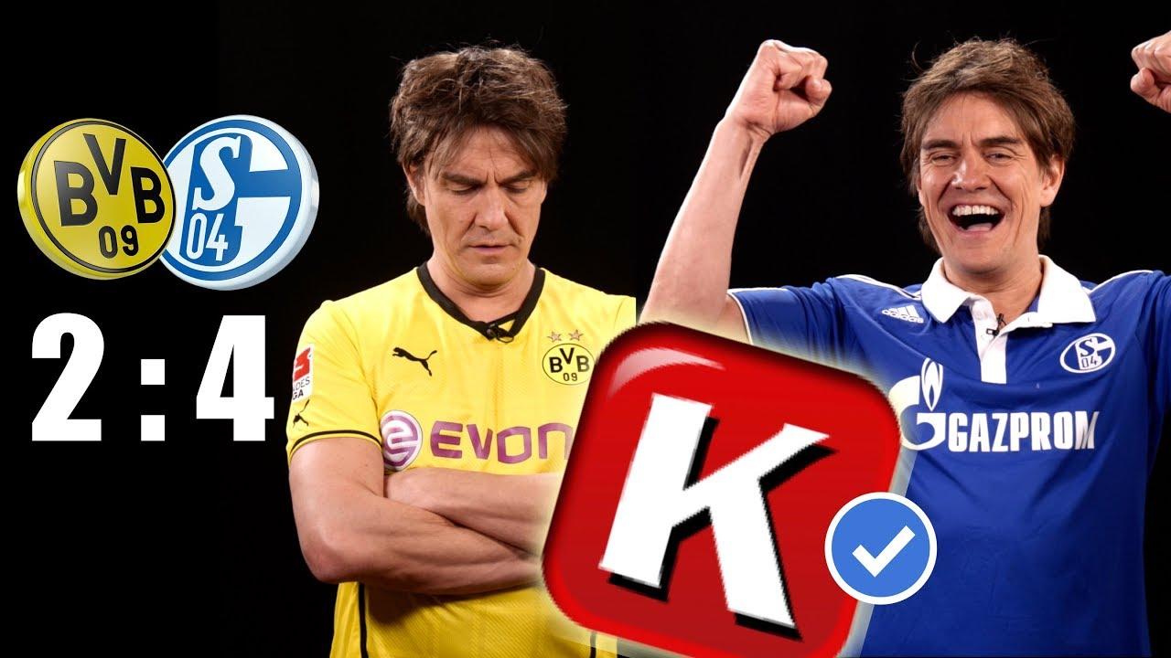Derby Wahnsinn In 180sekunden Bvb Schalke 04 Youtube