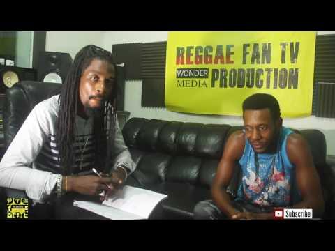 HERCULES INTERVIEW @ REGGAE FAN TV STUDIO