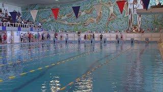 Во Дворце водного спорта прошел очередной этап школьной спартакиады – плавание