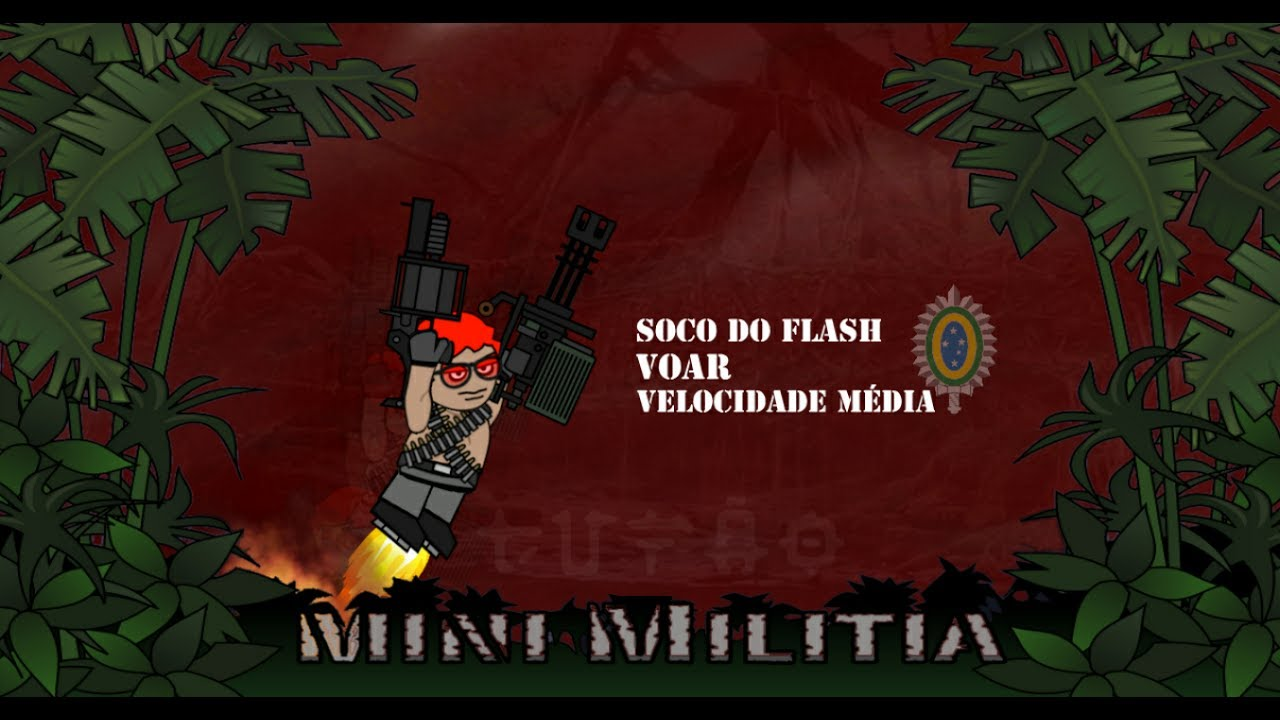 MINI MILITIA CORONHADA #1