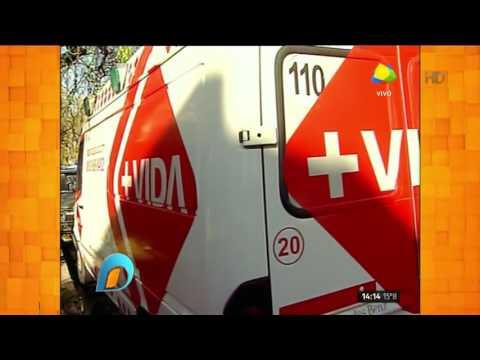 Nueva crisis de Matías Alé: ambulancias y policías en la casa