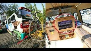 """Angkot """"Termewah"""" di Indonesia Ada di """"Bandung"""", Full AC, Wifi Gratis Serta Fasilitas Lain Yang Wow!"""