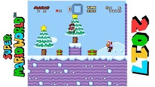Super Mario World: Christmas Edition • Hack of Super Mario World