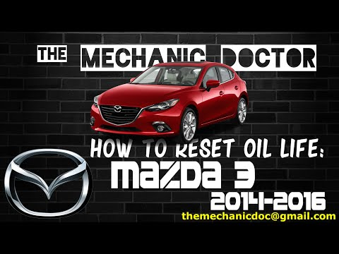2014 Mazda 3 Oil Change >> How To Reset Oil Life Mazda 3 2014 2016 6 Steps
