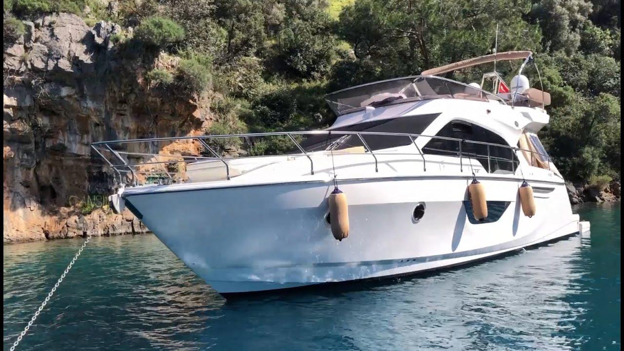 Motoryat ile İstanbul'dan Göcek'e Tekne Götürmek - Sessa F45 Fly