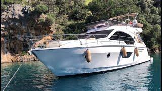 Motoryat ile İstanbul'dan Göcek'e Tekne Götürmek  Sessa F45 Fly