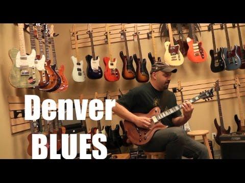 Washburn Custom Shop Blues in Denver