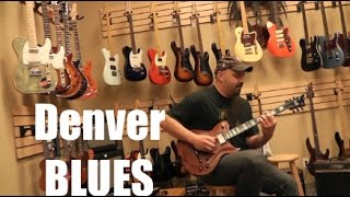 Washburn Custom Shop Blues in Denver