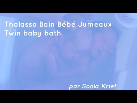 Thalasso Bain Bébé Jumeaux - Twin Baby Bath