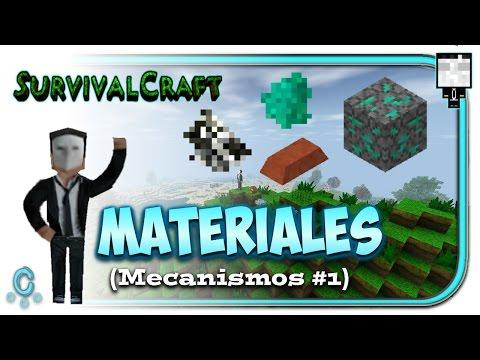 survivalcraft-mecanismos-electrónicos---encontrar-materiales-#1
